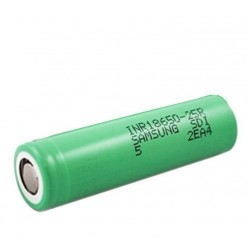 Samsung INR18650-25R 18650 2500mAh 3.6v Rechargeable Flat Top Batteries